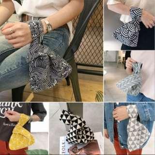 Mini Japanese hand pouch