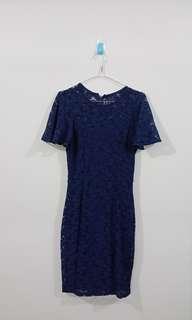 Zalora Dress Lace