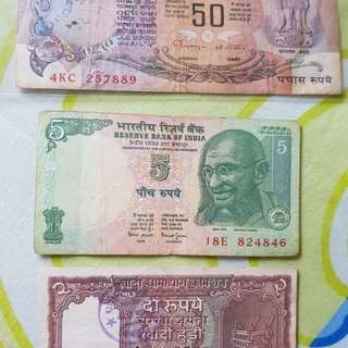 India old bank notes