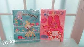 Sanrio~My Melody/Hummingmint tote bag