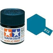 Tamiya Metallic Blue X-13 Paint