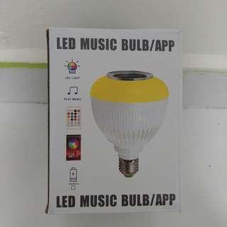 Wireless speaker Led light