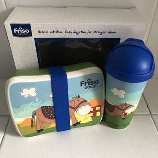 Friso Bamboo Fiber Lunch Box Set