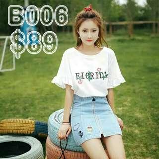 B006 短袖T-shirt