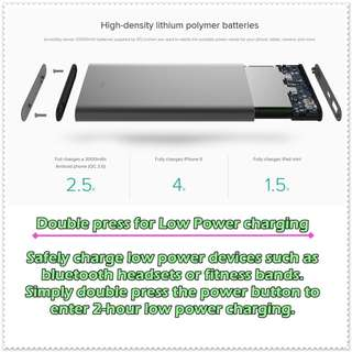 Powerbank XIAOMI GEN 2 - 10000MAH POWERBANK