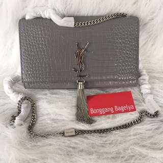 YSL Croc Sling Bag
