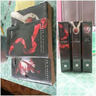 SET Twilight series(twilight.newmoon.eclipse)