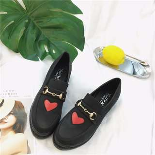 [INSTOCKS] Korean Ulzzang PU Shoe in Size 38
