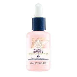 (BNIP) The Body Shop Vitamin E Overnight Serum-in-Oil