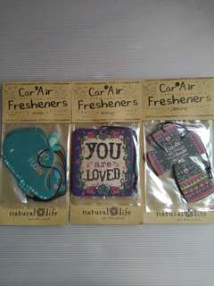 BNIP Car Fresheners by Natural Life