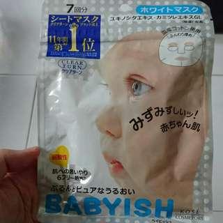 Kose Babyish Mask