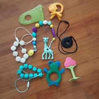 Teethers and Teething Necklace