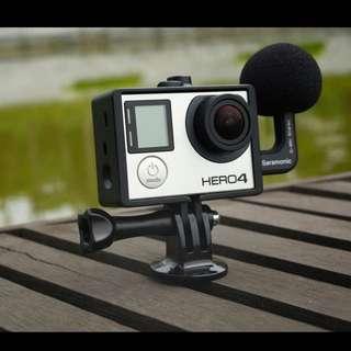 Saramonic GoMic Stereo Ball Microphone for GoPro Cameras