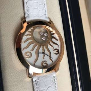 Chopard Happy diamonds happy sun rose gold