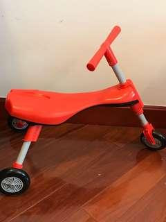 Baby/toddler foldable bike