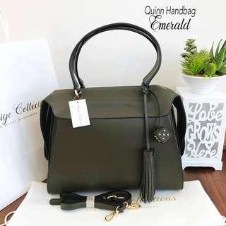 Quinn Handbag in man-made leather