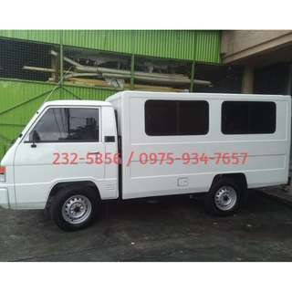 L300 for rent - dual aircon