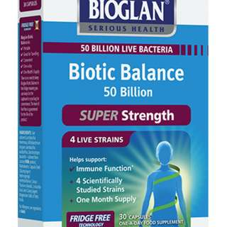 BIOGLAN Biotic Balance 50 Billion 30caps