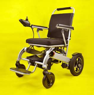 ULTRALIGHT Foldable Power Motorised Electric Wheelchair