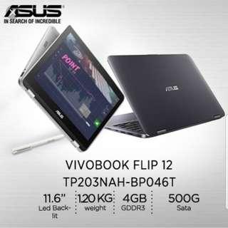 Brand new Asus Vivobook flip (Touch) ultrabook!!