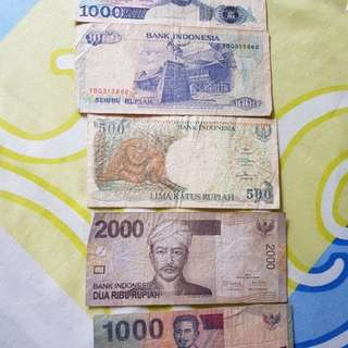 Old Notes of Indonesia