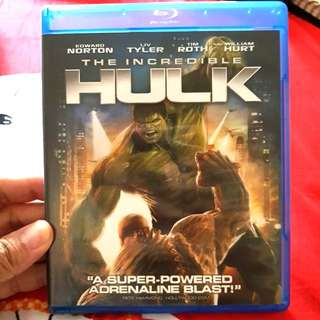 Used Hulk Bluray