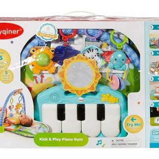 PlayGym with foot piano