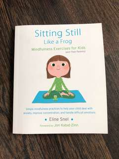Sitting Still Like a Frog mindfulness exercises for kids and parents