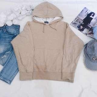 Uniqlo brown hoodie