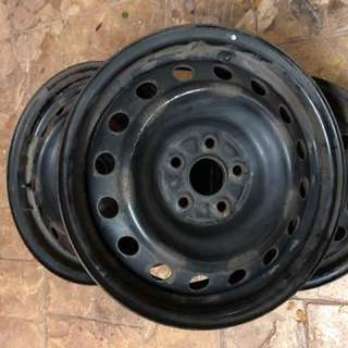 Rim Besi Standard Toyota Wish Wheels