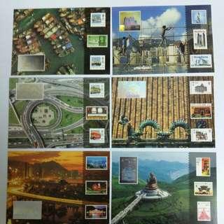 郵政明信片(6張)