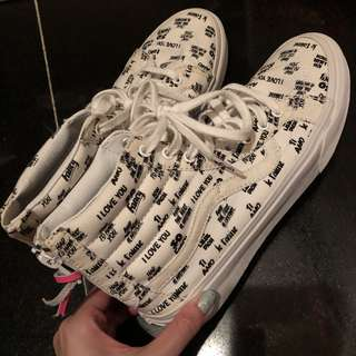 Vans 女裝90%新 100%real size 38.5