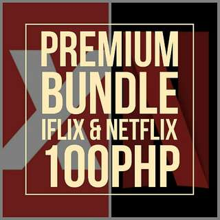 Iflix & Netflix Premium Bundle for Sale