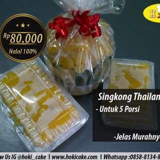 kue basah singkong thailand nikmat tanpa bahan berbahaya 100% halal untuk 5 porsi