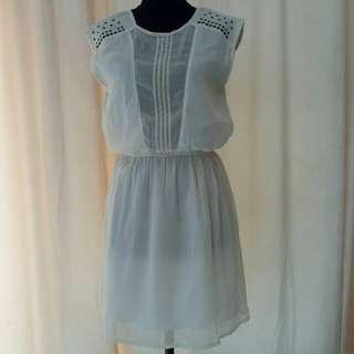 Dress mango putih