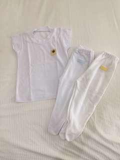 Take all baju set bayi 3-6m