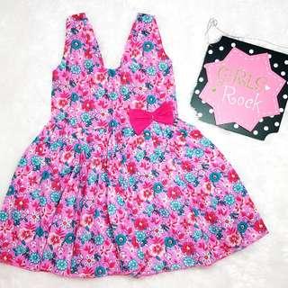 Brand New Baby Girl Sunday Dress 6 to 12mos.