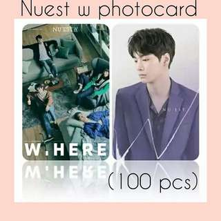 530 NUEST W PHOTOCARD 💫 (100 PIECES)