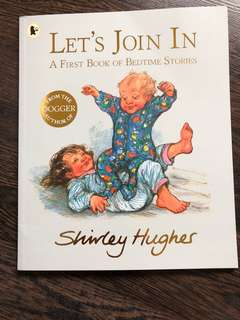 Brand new Let's Join In first book of bedtime stories
