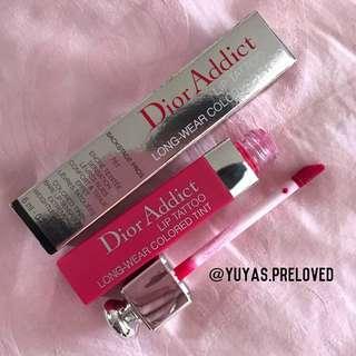 Preloved Dior Lip Tattoo 761 Natural Cherry