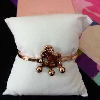 Mon Meill Gold Coated Bracelet