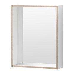 Ikea Mirror with shelf - white