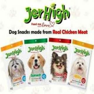 Jerhigh Dog Treats