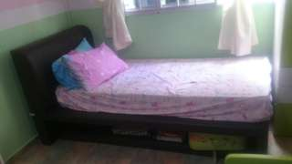 Super Single Bed with pullout