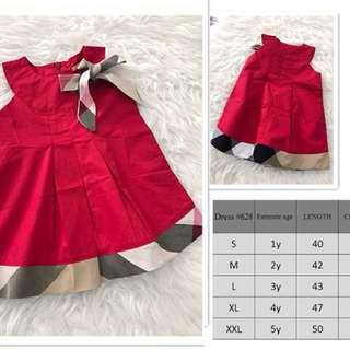 Pre Order Burberry Dress