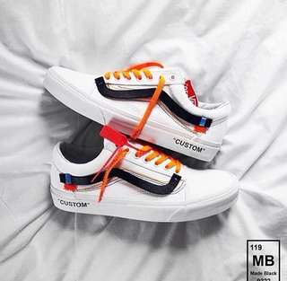 Vans Oldskool x New Off White