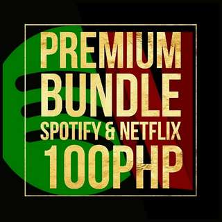Spotify & Netflix Premium Bundle For Sale
