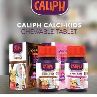 Tablet Kunyah Caliph Calci-Kids 2018