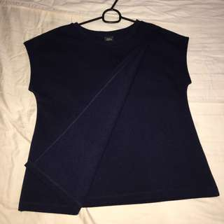 Iora navy blue top