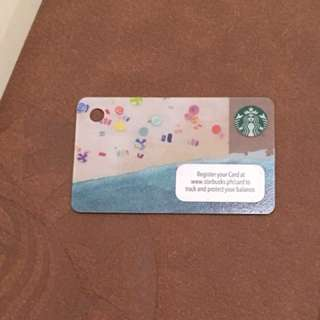 Starbucks card - Mini card